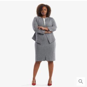 MM Lafleur The Greenpoint Skirt - Zip Jacquard 3X